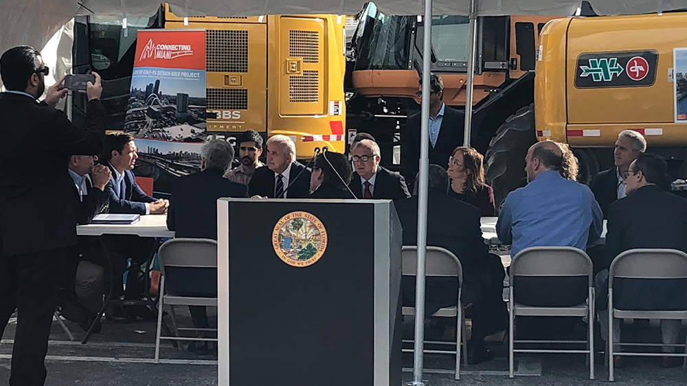 FDOT Press Event/Governor DeSantis Transportation Listening Session – January 23, 2019